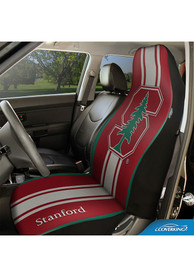Stanford Cardinal Universal Bucket Car Seat Cover - Red