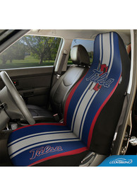 Tulsa Golden Hurricanes Universal Bucket Car Seat Cover - Blue