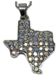 Texas State shape Necklace