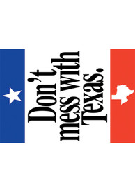 Texas Dont Mess With Texas Playing Cards