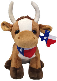 Texas Cute Longhorn Plush