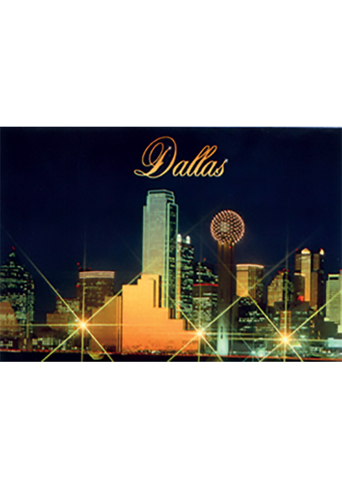 Dallas Ft Worth Dallas Night Magnet - Image 1