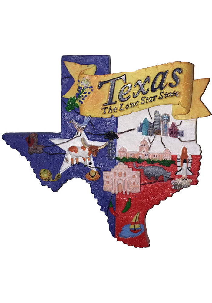 Texas State shape Magnet - Image 1