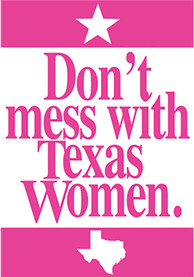 Texas Dont Mess With Texas Postcard