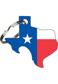 Texas Flag Keychain