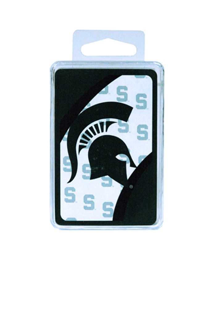 Michigan State Spartans Team Logo Playing Cards - Image 1