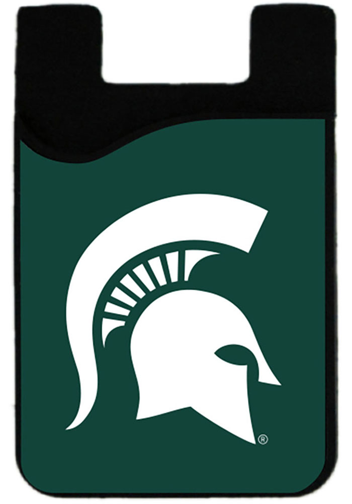 Michigan State Spartans Cell Phone Card Holder Womens Wallets - Image 1