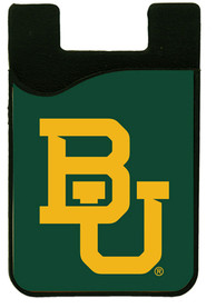 Baylor Bears Womens Cell Phone Card Holder Wallets - Green