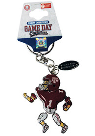 Texas A&M Aggies Movable Player Keychain