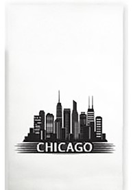 Chicago Skyline Towel
