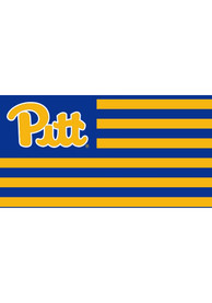 Pitt Panthers Nations Blue Silk Screen Grommet Flag