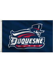 Duquesne Dukes Team Logo Grommet Silk Screen Flag