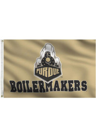 Purdue Boilermakers Grommet Gold Silk Screen Grommet Flag