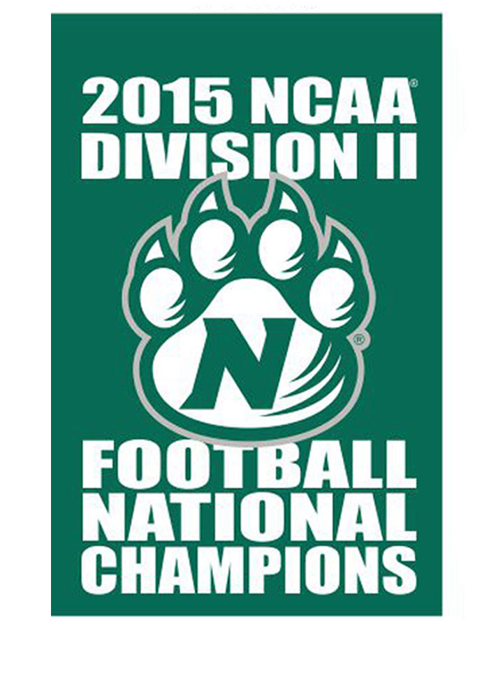 Northwest Missouri State Bearcats 30x48 5 Times DII National Champions Banner - Image 1