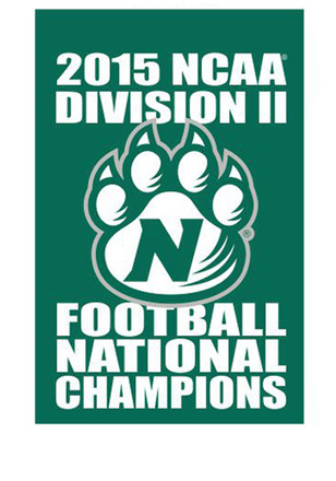 Northwest Missouri State Bearcats 30x48 5 Times DII National Champions Banner