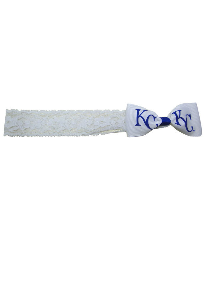 Kansas City Royals Lace Baby Headband - Image 1