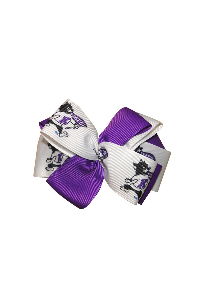 K-State Wildcats Willie the Wildcat Kids Hair Barrette - Image 1