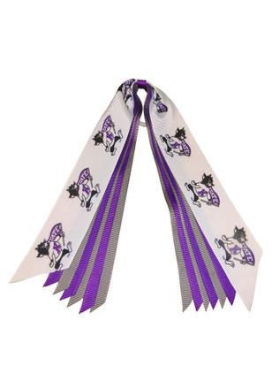 K-State Wildcats Willie the Wildcat Hair Ribbons