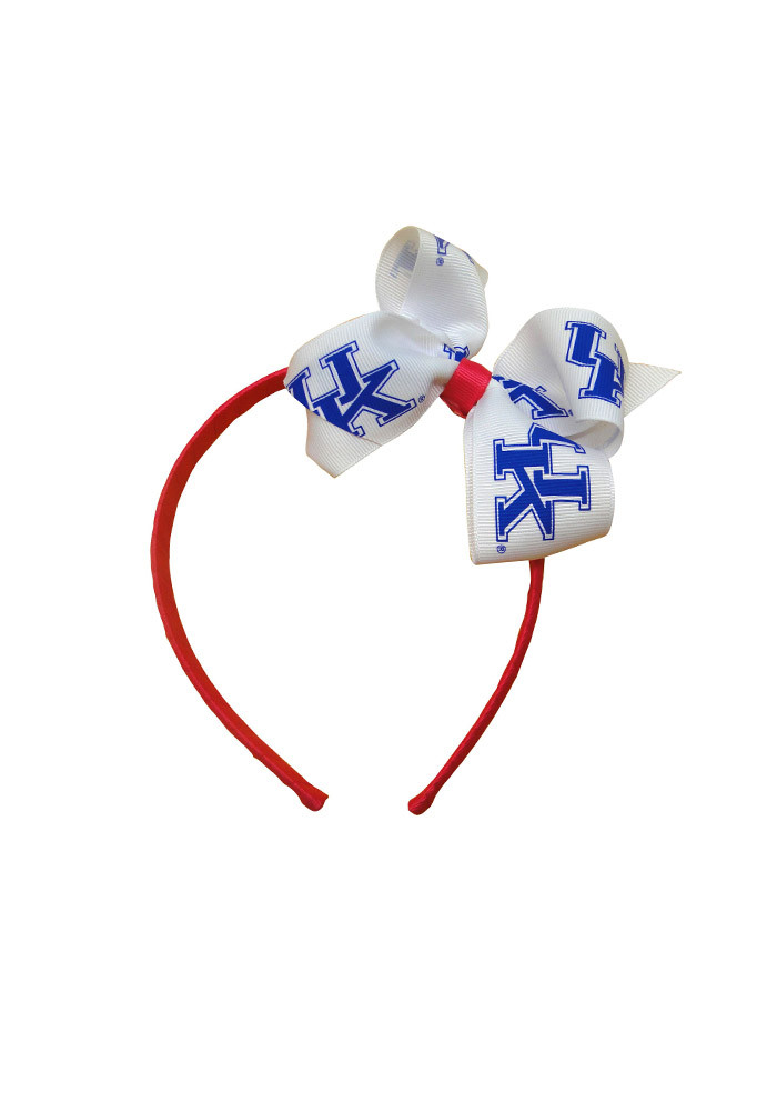 Kentucky Wildcats Jr Bow Kids Headband - Image 1