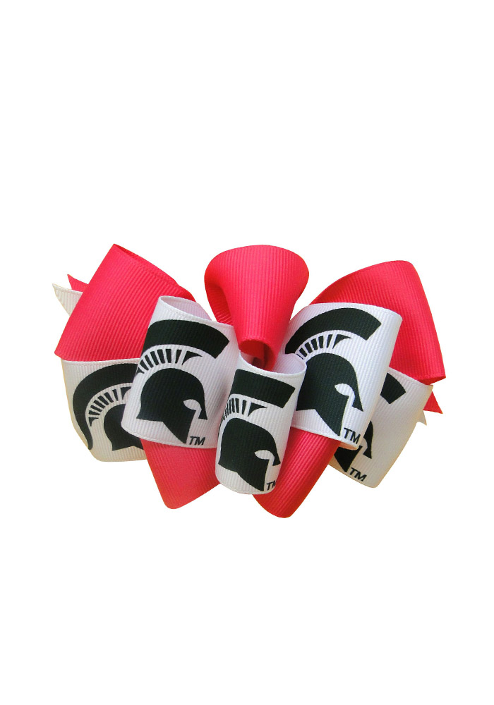 Michigan State Spartans Mary Loop Kids Hair Barrette - Image 1