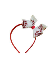 Texas A&M Jr Bow Headband