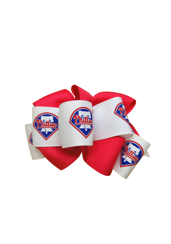 Philadelphia Phillies Mary Loop Kids Hair Barrette - Image 1
