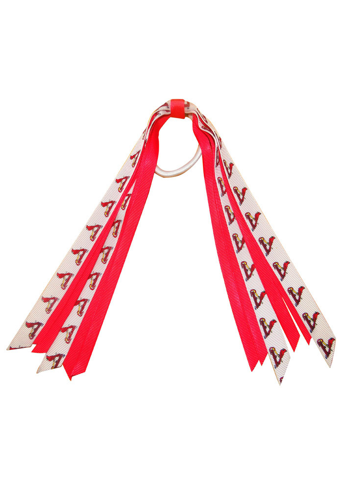 St Louis Cardinals Mini Pony Streamer Kids Hair Ribbons - Image 1
