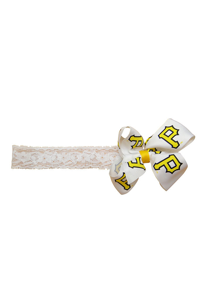 Pittsburgh Pirates Team Logo Toddler Headband - Image 1