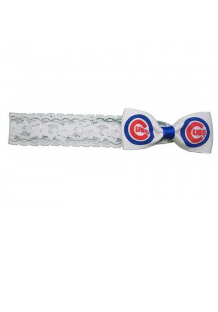 Chicago Cubs Logo Baby Headband - Image 1