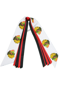 Chicago Blackhawks Pony Streamer Hair Ribbons