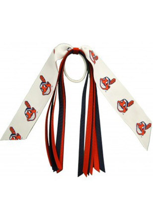 Cleveland Indians Streamer Hair Ribbons