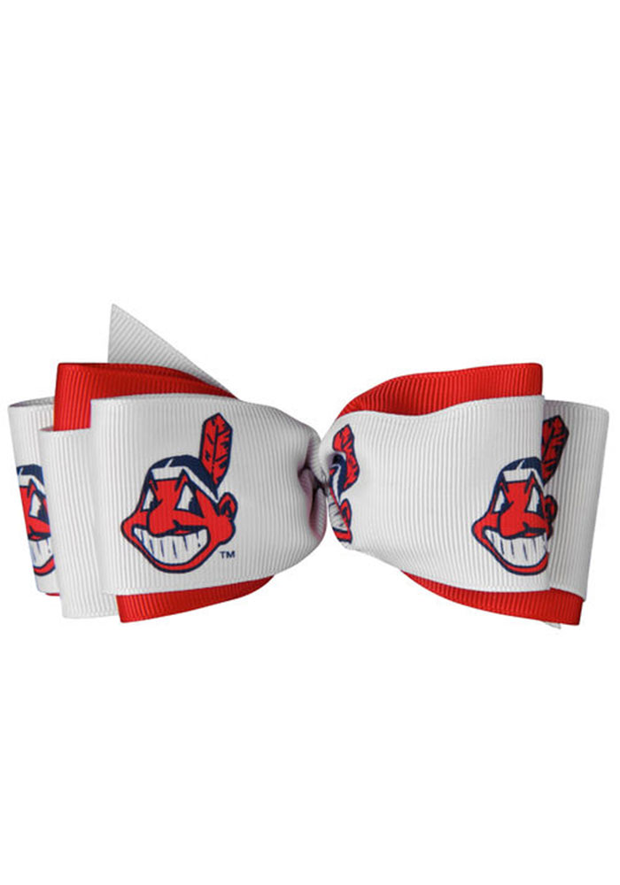 Cleveland Indians Mary Loop Kids Hair Barrette - Image 1