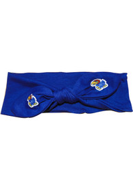 Kansas Jayhawks Knotted Bow Headband