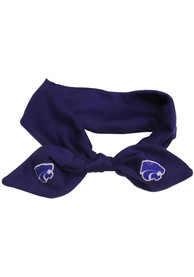 K-State Wildcats Youth Knotted Bow Headband - Purple