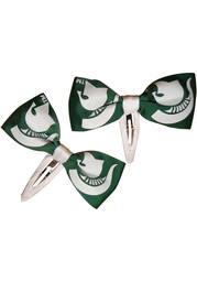Michigan State Spartans 2 Pack Clippie Baby Hair Barrette