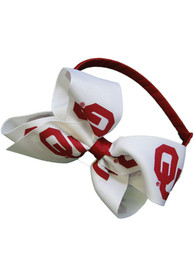 Oklahoma Sooners Youth Team Logo Headband - Crimson