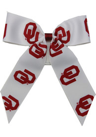 Oklahoma Sooners Youth Team Logo Hair Scrunchie - Crimson