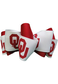 Oklahoma Sooners Kids Team Logo Hair Barrette - Crimson