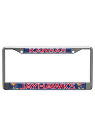 Kansas Jayhawks Team Name Domed License Frame