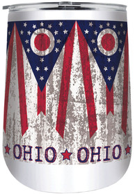 Ohio 18oz Stainless Steel Tumbler - White