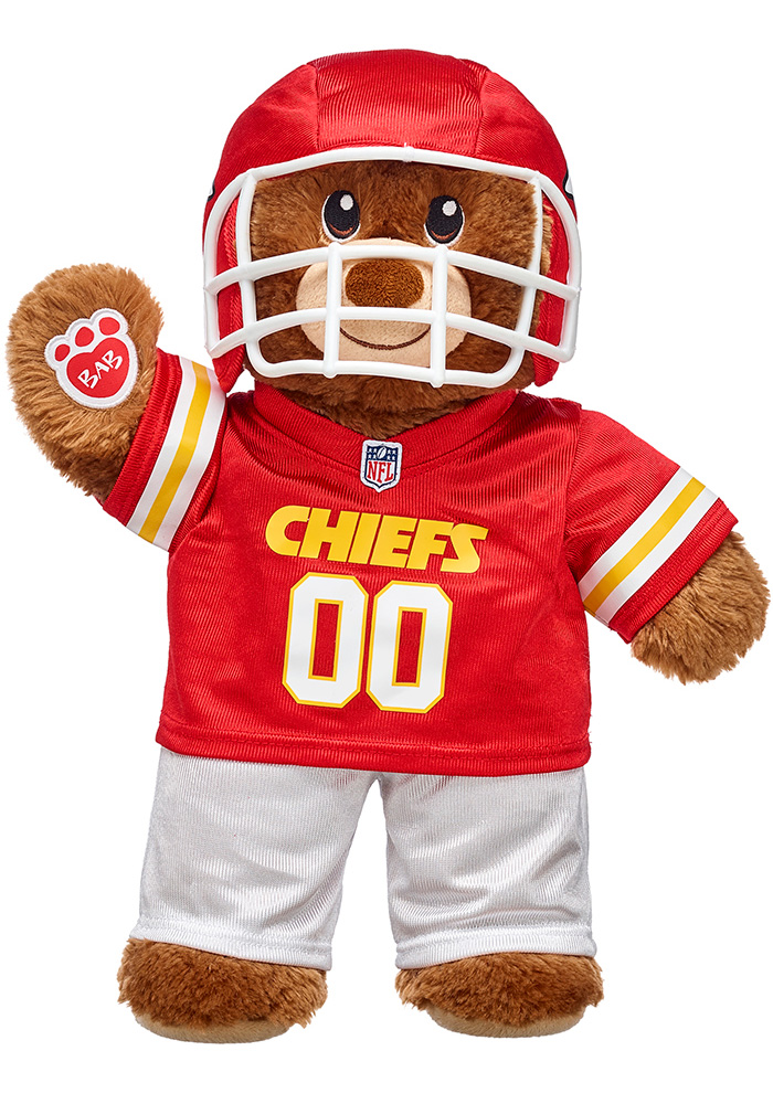 Kansas City Chiefs 15g Build-A-Bear Lil' Cub Plush - Image 1