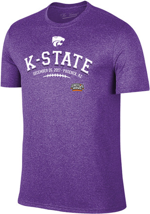 K-State Wildcats Mens Purple Laces Fashion Tee