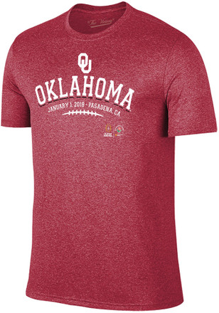 Oklahoma Sooners Mens Crimson Laces Fashion Tee