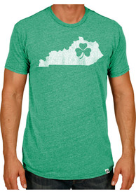 Kentucky Green State Shape Short Sleeve T Shirt