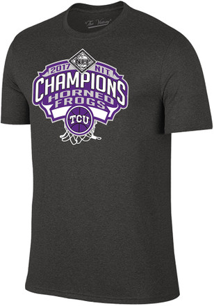 Horned Frogs Mens Purple 2017 NIT Champions Fashion Tee