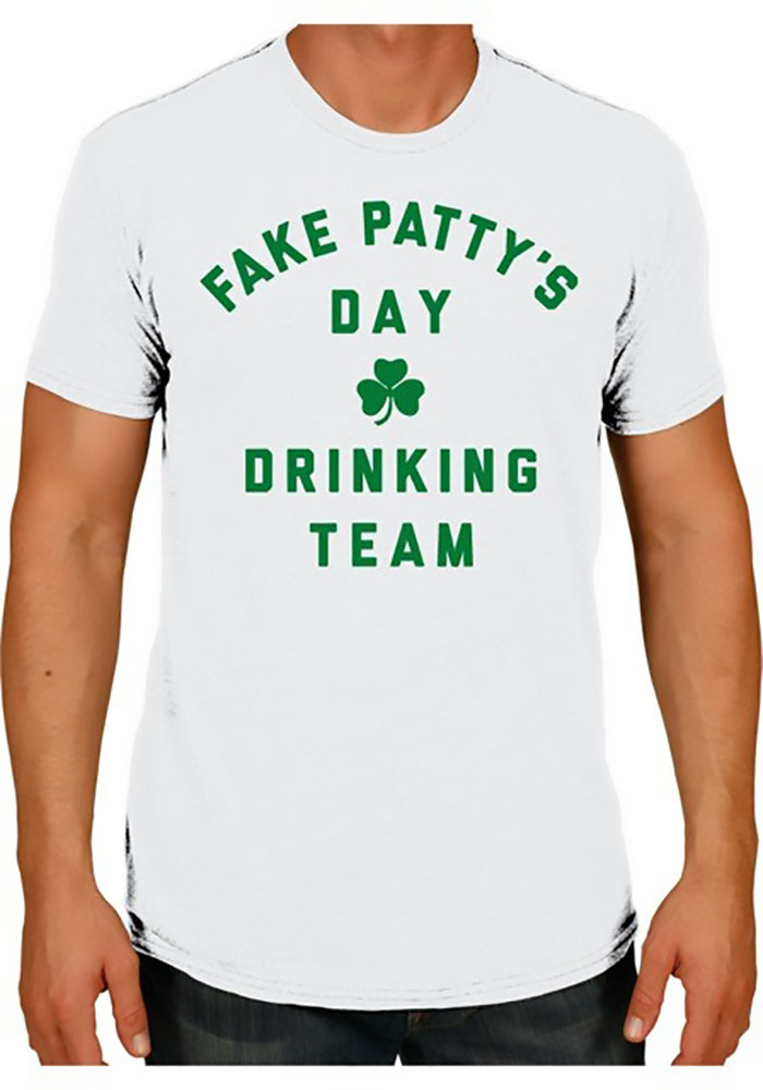 Rally Aggieville White FPD Drinking Team Short Sleeve T Shirt - Image 1