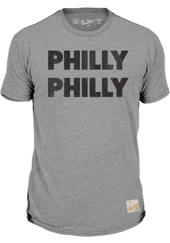 Philadelphia Grey Philly Philly Short Sleeve T Shirt - Image 1
