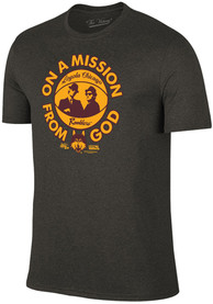 Loyola Ramblers Charcoal Mission From God Fashion Tee