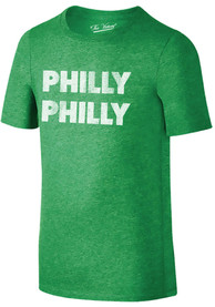Philadelphia Youth Green Philly Philly Short Sleeve T Shirt