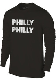 Philadelphia Youth Black Philly Philly Long Sleeve T Shirt